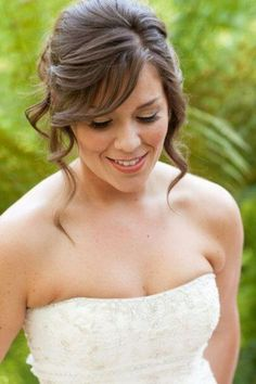 Hairstyle For Shoulder Length Hair For Wedding
