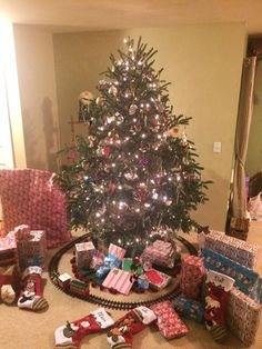 Santa just left our house. I think we are officially ready!!