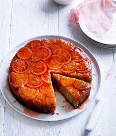 Blood orange and hazelnut cake recipe :: Gourmet Traveller