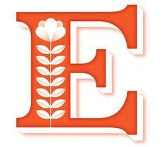 """Decorative Letter """"E"""""""