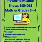PowerPoint+Slide+Shows+BUNDLE+-+Math+for+Grades+3-4  This+zipped+file+is+a+BUNDLE+of+ALL+5+of+my+MATH+POWERPOINT+SLIDE+SHOWS+for+GRADES+3-4. +++++~...