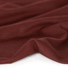 Cotton Modal Jersey Knit - Merlot   Blackbird Fabrics Sewing, Knitting, Blackbird, Cotton, Fabrics, Yarns, Healthy, Products, Tejidos