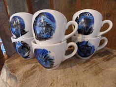 ZESTAW SMOCZY Mugs, Tableware, Art, Art Background, Dinnerware, Tumblers, Tablewares, Kunst, Mug