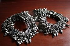 Artikel zum Verkauf von silverethnicjewels   eBay Anklet, Antique Silver, Pairs, Antiques, Ebay, Indian, Ethnic, Silver, Air Cast