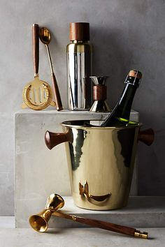 Woodnote Ice Bucket - anthropologie.com