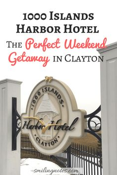 Looking for the perfect Weekend Getaway in Upstate New York? 1000 Islands Harbor Hotel in Clayton is the answer for you! Girls Weekend, Long Weekend, Travel Sights, Travel Destinations, Quick Weekend Getaways, Harbor Hotel, Thousand Islands, Girls Getaway, Travel Articles