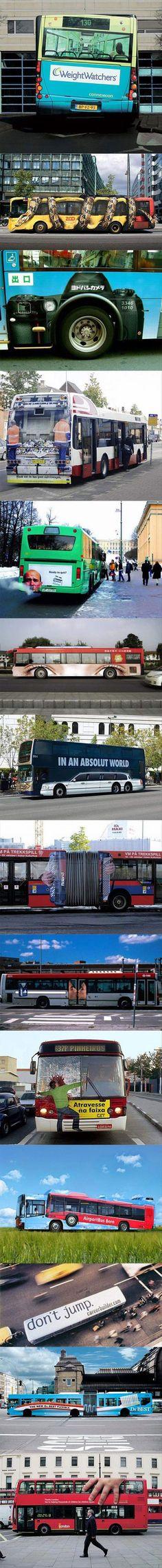 creative buses