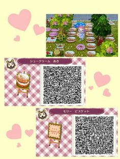 animal crossing new leaf hhd qr code paths pollocrossing spring versions of my mush paths. Black Bedroom Furniture Sets. Home Design Ideas