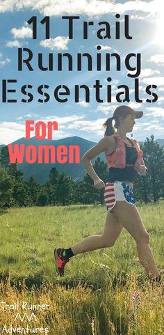 11 Trail Running Essentials for Women. #TrailRunningGear #TrailRunningtrail