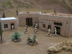 A 28mm Brain: Old West 7: Meanwhile Back at the Ranch. Down Mexico Way.