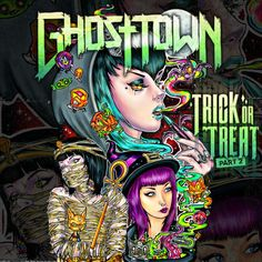 Ghost Town Trick Or Treat Part 2,Art By Imamachinist