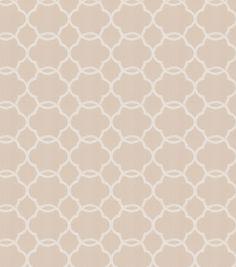 Eaton Square Print Fabric-Shaw/Flax