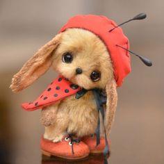 little lady bird bunny by Catherina Bespalova