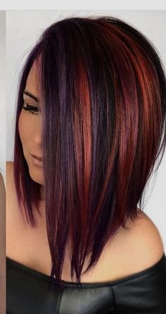 Hair Color Ideas For Brunettes With Red Fun Haircuts 56 Ideas For 2019 - Hair Hair Color Ideas For Brunettes With Red Fun Haircuts 56 Ideas For 2019 - Hair Hair Color Highlights, Red Hair Color, Hair Color Balayage, Cool Hair Color, Color Red, Hair Colors, Auburn Highlights, Copper Highlights, Colour Colour