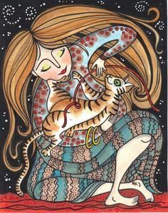 Delightful print by Penny Noblevia