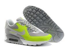 Neu Nike Air Max 90 Hyperfuse Schuhe Und Grau Karmesinrot