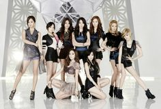 Girls' Generation is officially the first K-pop group ever to have three music videos on YouTube surpass the 150 million view mark. The group's music video
