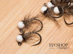 White Bead Hare's Ear Jig Nymph Nymph Fly Patterns, Fly Tying Patterns, Hare's Ear, Pink River, Beads And Wire, White Beads, Fly Fishing, Europe, Fly Tying