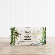 2 x  The Cheeky Panda Biodegradable Bamboo Baby Wipes