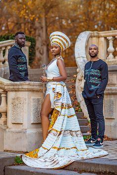 African Wedding Attire, African Attire, African Dress, Ghanaian Fashion, African Fashion, African Colors, African Traditions, African Royalty, African Traditional Dresses