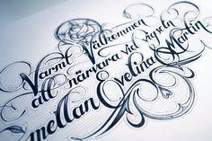 Hand Lettering II by Martin Schmetzer
