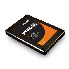 Patriot Memory PPSE60GS25SSDR (Direct) Pyro SE SATA 6.0 Gb-s 2.5-Inch Solid State Drive by Patriot. Save 22 Off!. $116.34. From the Manufacturer                                          The Patriot Memory Pyro SE is the perfect choice for those looking to upgrade to get blazingly fast start up times and near instantaneous access to their data. Powered by the latest SandForce SF-2281 processor and utilizing the ultra-fast SATA III 6 GB/s interface, The Pyro SE brings the improved…