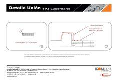 Detalle Union Lucernario policarbonato GmSispol 30mm con panel sándwich cubierta tapajuntas