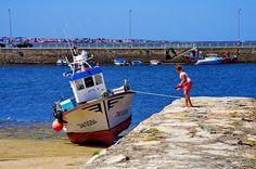 Cambados Galice Espagne 378 - le port à marée basse