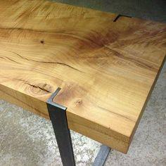 Details wood iron table by Still  Life Torreglia via Montegrotto Padova