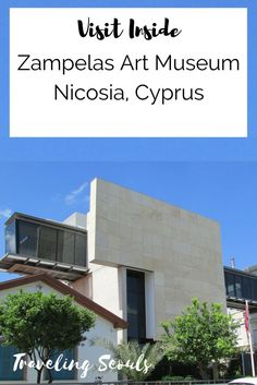 Did you know that there is an art museum in Nicosia, Cyprus? Click to read more or save this pin for later. More at Traveling Seouls