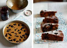 Torta integrale con cotto di fichi | Anna The Nice