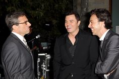 Steve Carell, Seth MacFarlane and honoree Shawn Levy at the Chrysalis Butterfly Ball 2012 - A super-great event