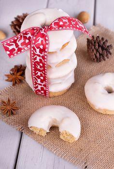 Rosquillas de anis Food N, Food And Drink, Mousse Cake, No Bake Cookies, Coffee Break, Christmas Cookies, A Table, Donuts, Gingerbread