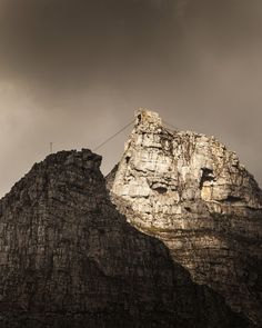 Table Mountain cable car, Cape Town South Africa