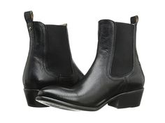Frye Carson Chelsea Black Washed Antique Pull Up - Zappos.com Free Shipping BOTH Ways