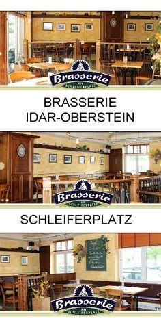 Brasserie vor Ort auf dem Schleiferplatz in Idar-Oberstein Green Jobs, Liquor Cabinet, Spaces, Sport, Storage, Furniture, Home Decor, Sustainability, Purse Storage