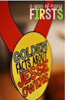 Golden Facts about Jesse Owens...Black History Month