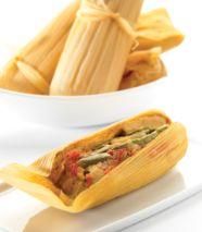 Tamales de nopal