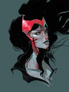 the Scarlet Witch #marvel