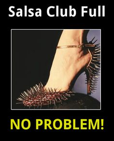 Salsa club full?  No problem! #salsa