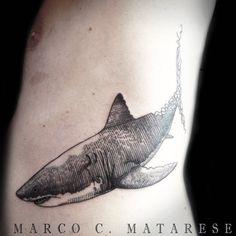 Shark, placement, ideas, men | Tattoo - etching, incisione, linework. | Tattooist: Marco C. Matarese, Milan. #marcocmatarese #matarese #incisione #etching #engraving #drawing #penandink #lines #steampunk #blackwork #milano #milan #sculptoroflines #tatuage #ink #tattoo #tattooist #dotwork #nero #tatuatore #linework #blackart #acquaforte #incisione