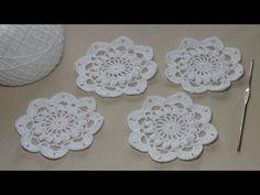 Урок вязания крючком ажурного мотива - Crochet - YouTube