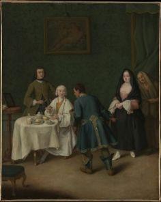 The Temptation - Pietro Longhi - The Athenaeum