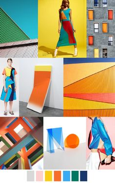Nov 2019 - FV contributor, Pattern Curator curates an insightful forecast of mood boards & color stories and we are thrilled to have them on board as o. Fashion Colours, Colorful Fashion, Trendy Fashion, Pattern Curator, Theme Design, Fashion Forecasting, Color Stories, Fashion 2017, Fashion Spring