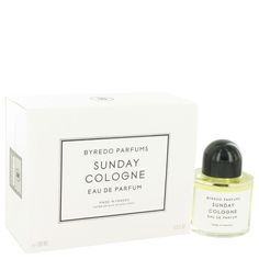 Byredo Sunday Cologne by Byredo Eau De Parfum Spray (Unisex) 3.4 oz. Enjoy the beautifully light fragrance of Byredo Sunday Cologne every day of the week. This sweet scent from Byredo was introduced in 2011 for women who want a sophisticated scent that lasts all day long. This scent is just right for every day yet great for special occasions too and features an opening of star anise and bergamot with a floral heart of lavender and geranium. Vetiver on the dry down clings to the skin and…