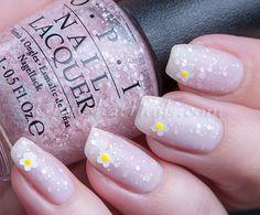 OPI Soft Shades 2015 – floral mani | ChitChatNails