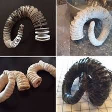Resultado de imagen de how to make goat horns