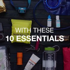 10 Essentials For Wilderness Adventures