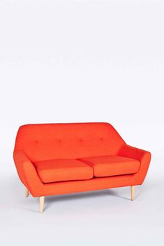 Shop Sofia 2 Seater Red Sofa at Urban Outfitters today. We carry all the latest styles, colours and brands for you to choose from right here.