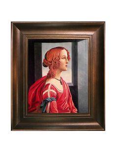 "Sandro Botticelli ""Simonetta"" Reproduction Oil Painting, http://www.myhabit.com/redirect/ref=qd_sw_dp_pi_li?url=http%3A%2F%2Fwww.myhabit.com%2Fdp%2FB00LIWXYT8"